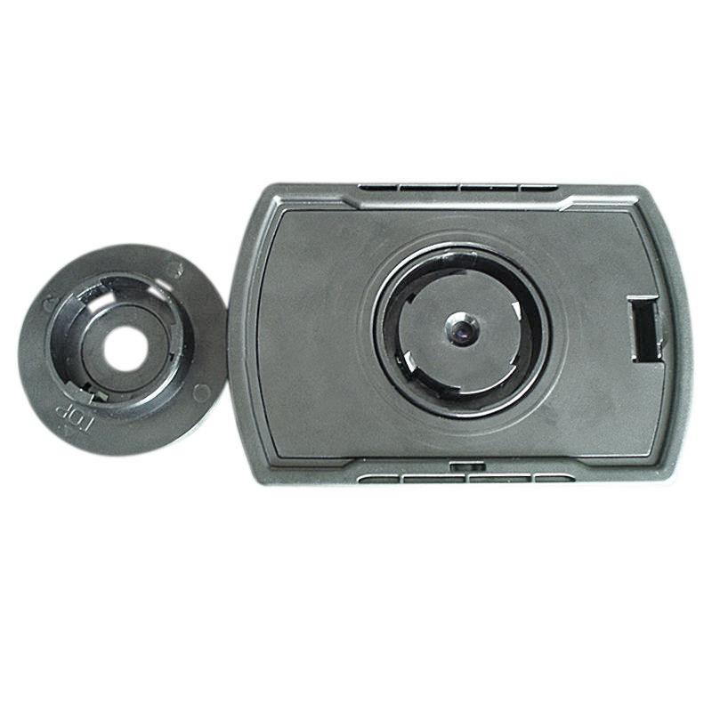 Cfly889 2 4 monitor digital door peephole viewer high for Door peephole camera