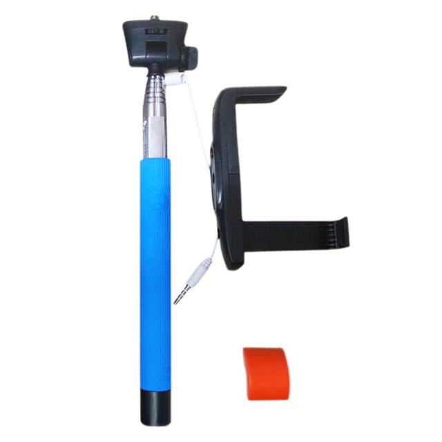 wired shutter extension pole mount monopod selfie stick holder for iphone ws ebay. Black Bedroom Furniture Sets. Home Design Ideas