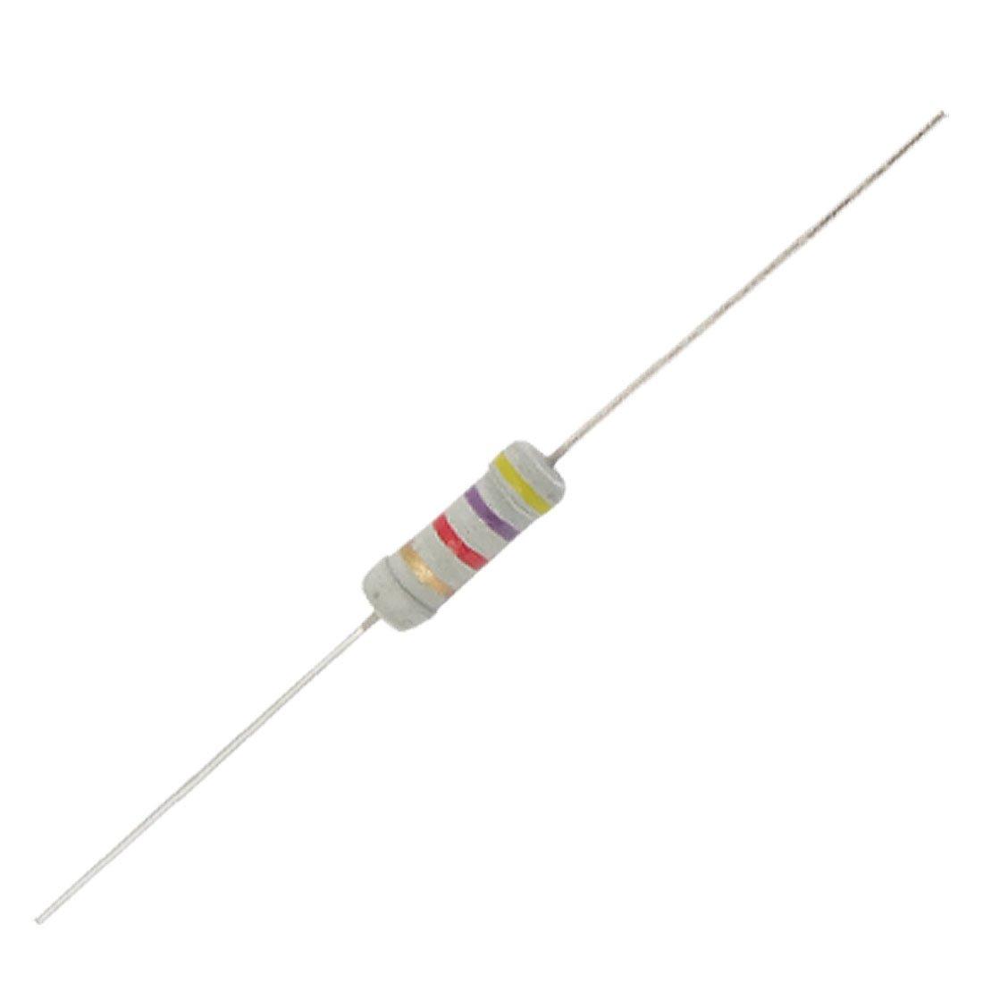 4k7 4 7k Ohms Ohm 1w 5 Carbon Film Resistors 500 Pcs
