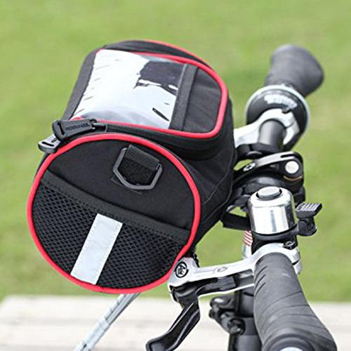 a1 fahrrad vorne lenker tasche korb transparent pvc beutel. Black Bedroom Furniture Sets. Home Design Ideas