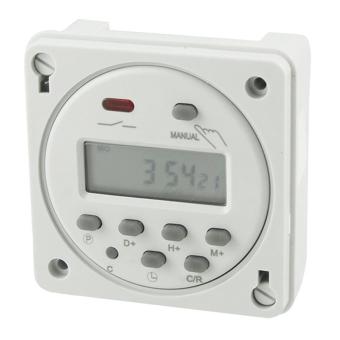 Digital Power Timer : Cn a led digital power programmable electronic timer ac