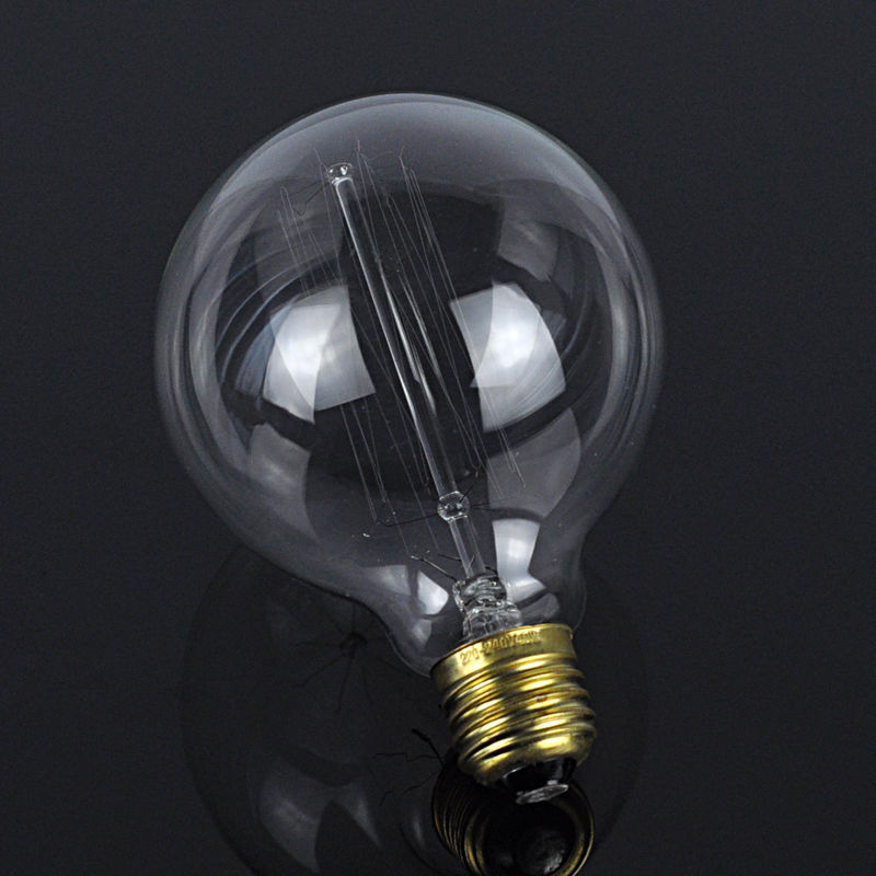 E27 40w Vintage Retro Filament Tungsten Light Bulb A19 Bot Ebay