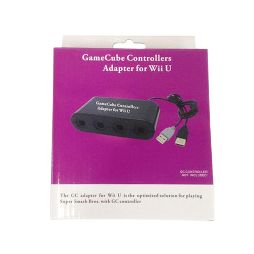 4 Ports GameCube Controller Adapter For Wii U & PC USB CY