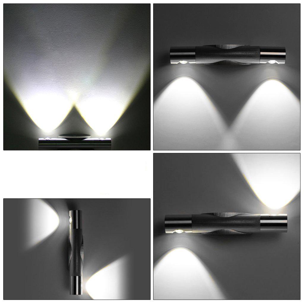 2W Modern White LED Wall lights lamp Aluminum Corridor lamp wall lighting WS eBay