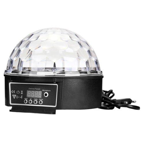 eclairage ampoule disco dj led lampe rgb boule cristal spotlight soiree club wt ebay. Black Bedroom Furniture Sets. Home Design Ideas