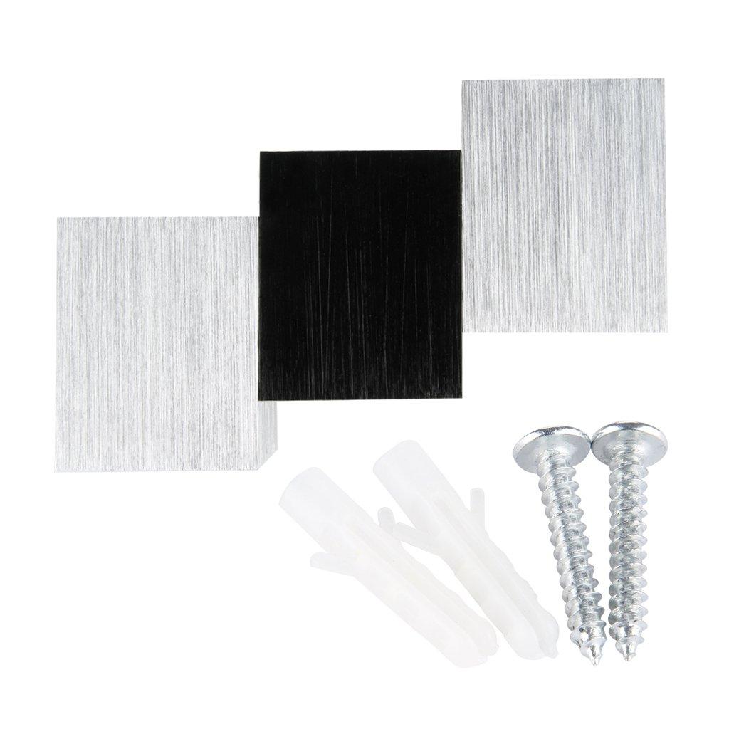 warmweiss 6w led wandbeleuchtung wandleuchte flurlampe wandlampe aluminum w d1q5 ebay. Black Bedroom Furniture Sets. Home Design Ideas
