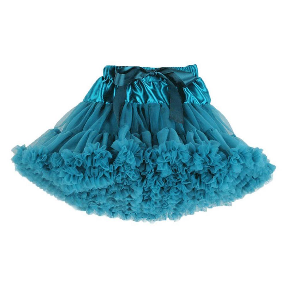 Toddler girl s baby s fluffy pettiskirt tutu princess skirt dancewear