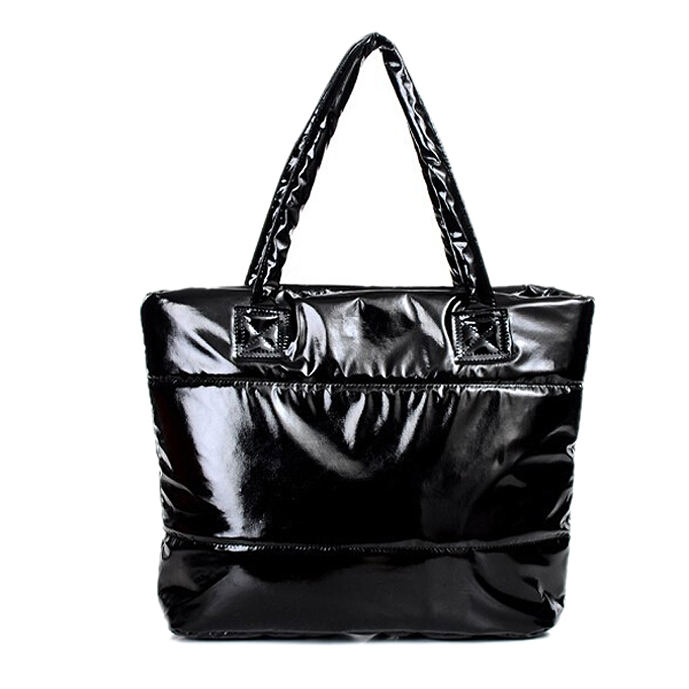 Women Space Bale Winter Cotton Totes Lady Quilted Shoulder ...