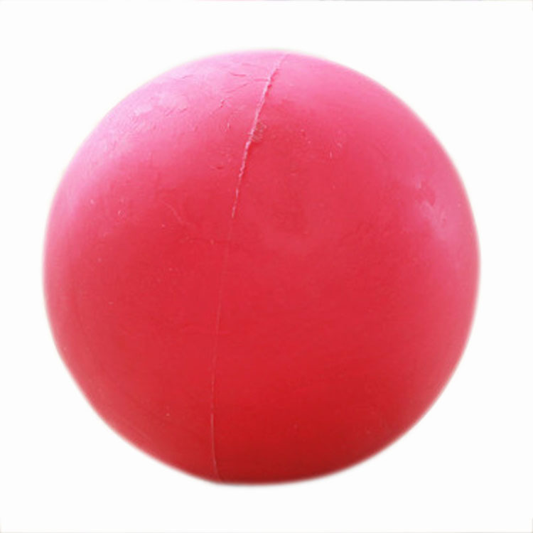Rubber Ball Dog Toy : Indestructible solid rubber ball pet dog training chew