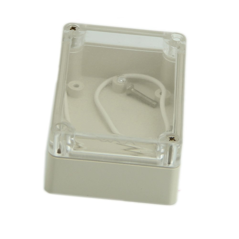 waterproof clear cover plastic electronic cable project box enclosure case s ws ebay. Black Bedroom Furniture Sets. Home Design Ideas