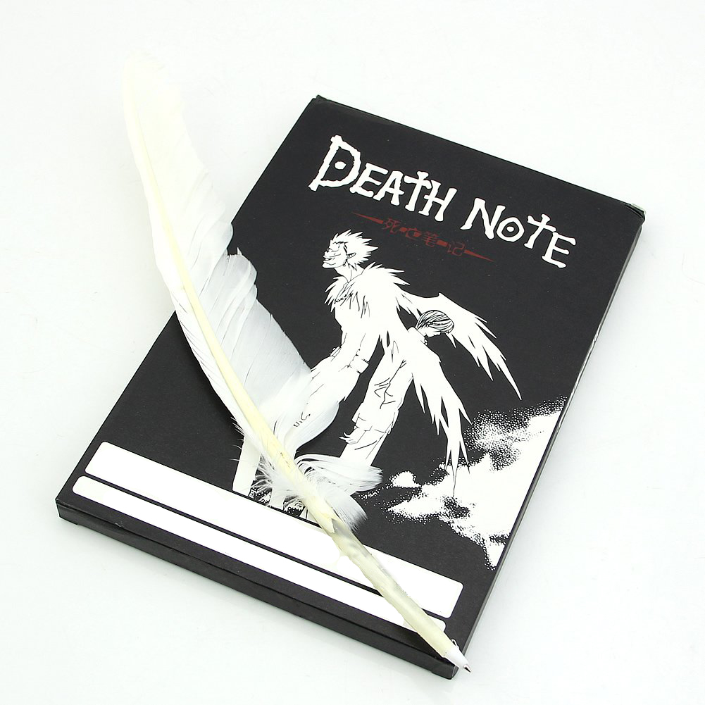 Fashion Anime Theme Death Note Cosplay Notebook New School