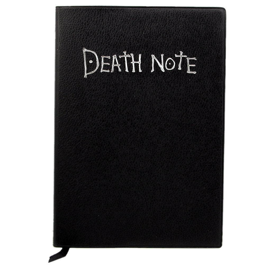 S10 Anime Theme Death Note Cosplay Notebook New School