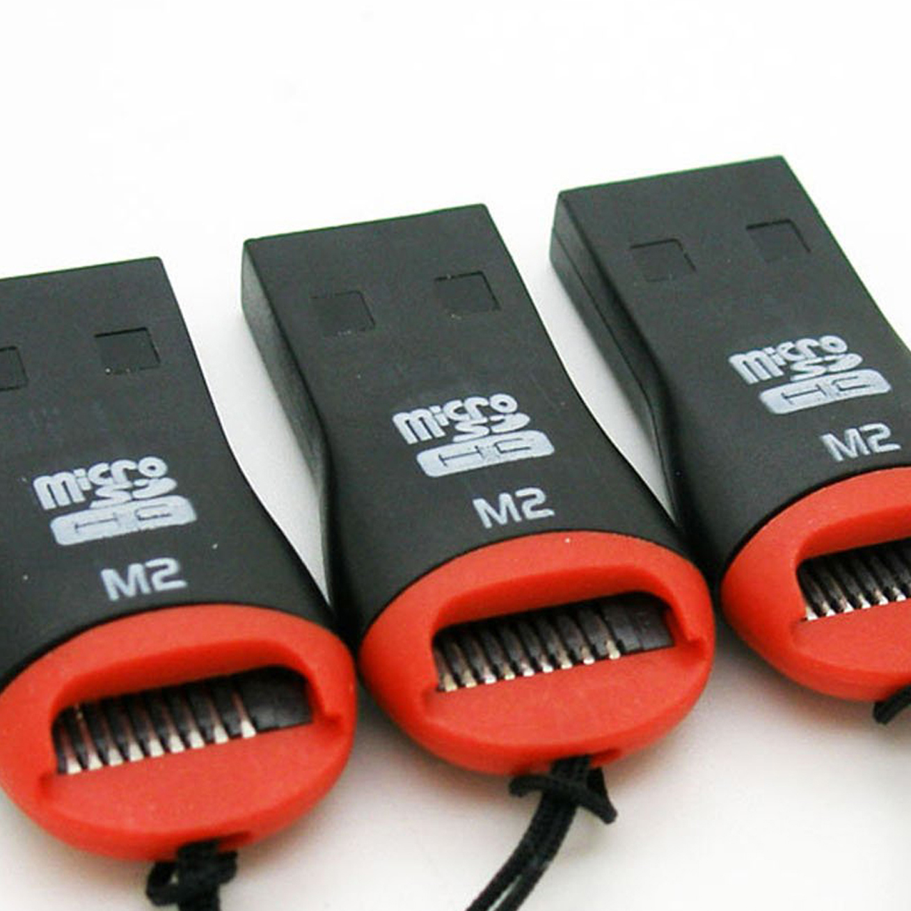 3 X USB 20 Micro SD Card Adapter Reader Writer SDHC MMC