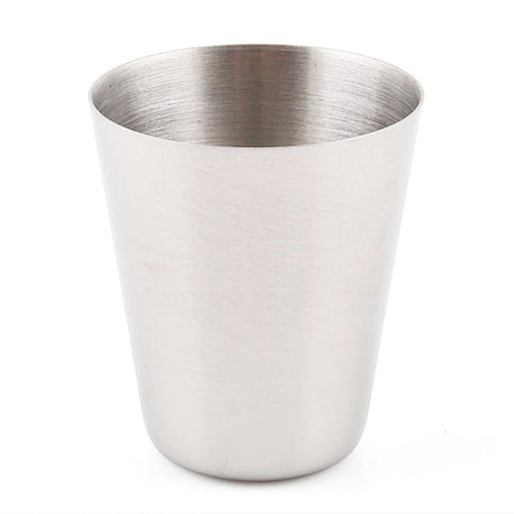 10 1 Oz 35ml Stainless Steel Wine Drinking Shot Glasses