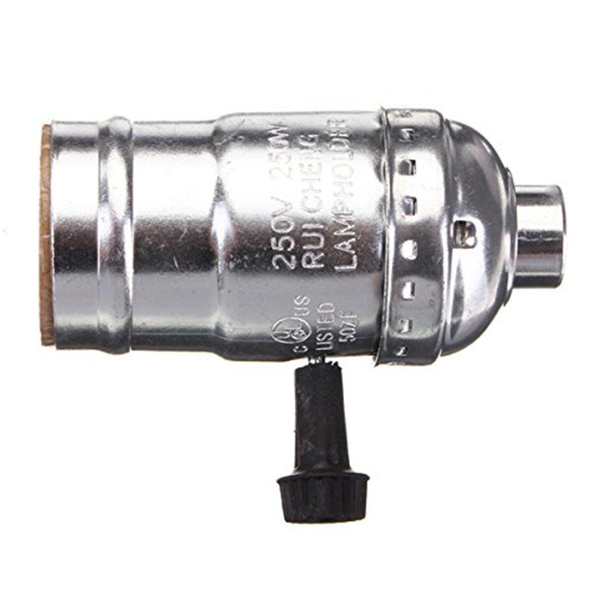 Edison Vintage Lamp Base Socket Holder Adapter E27 Screw