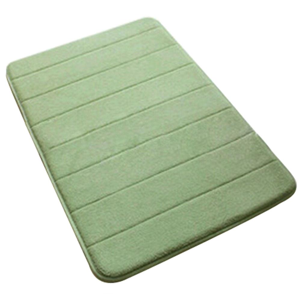 memory foam bath mat 50 80 absorbent slip resistant pad bathroom bath mat mats. Black Bedroom Furniture Sets. Home Design Ideas