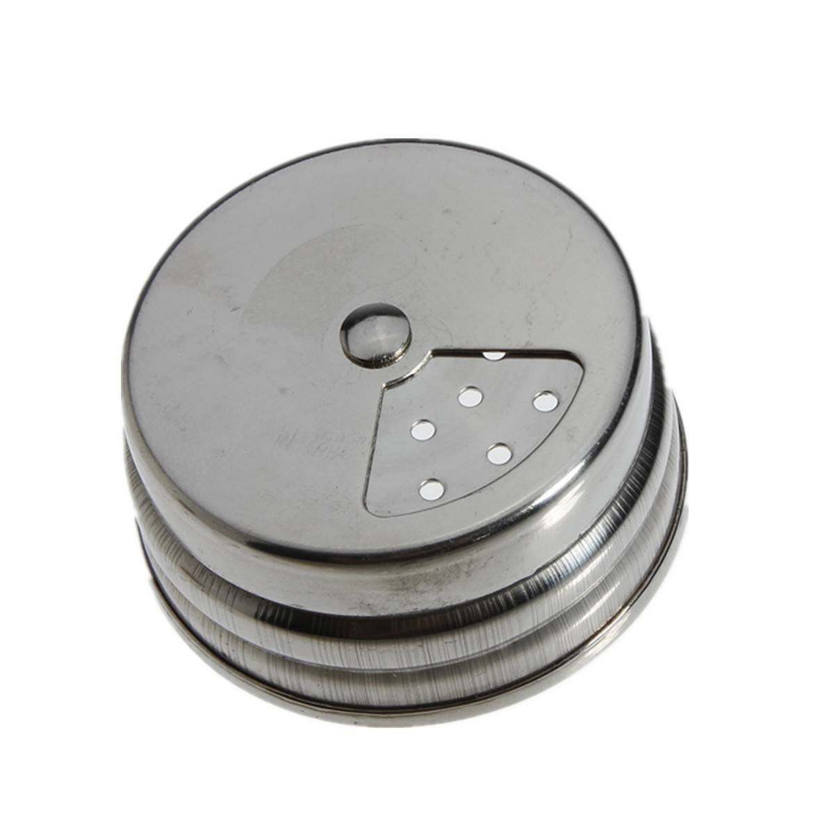 Stainless steel spice sugar salt pepper herb shaker jar toothpick storage bottle ebay - Toothpick shaker ...