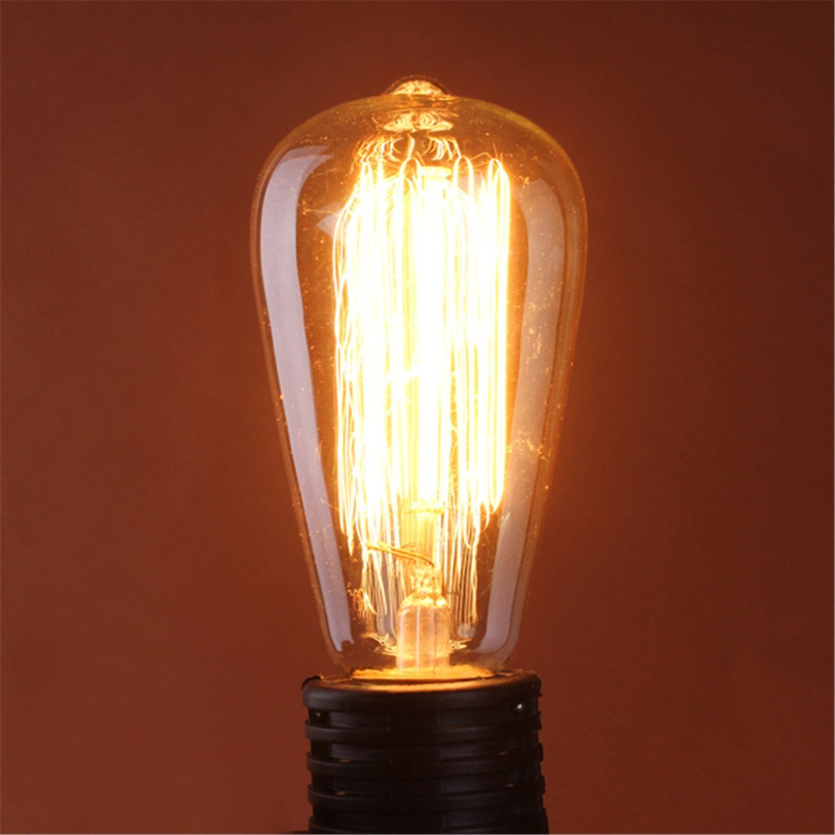 60w filament light bulb vintage unique designer old fashioned j6g. Black Bedroom Furniture Sets. Home Design Ideas