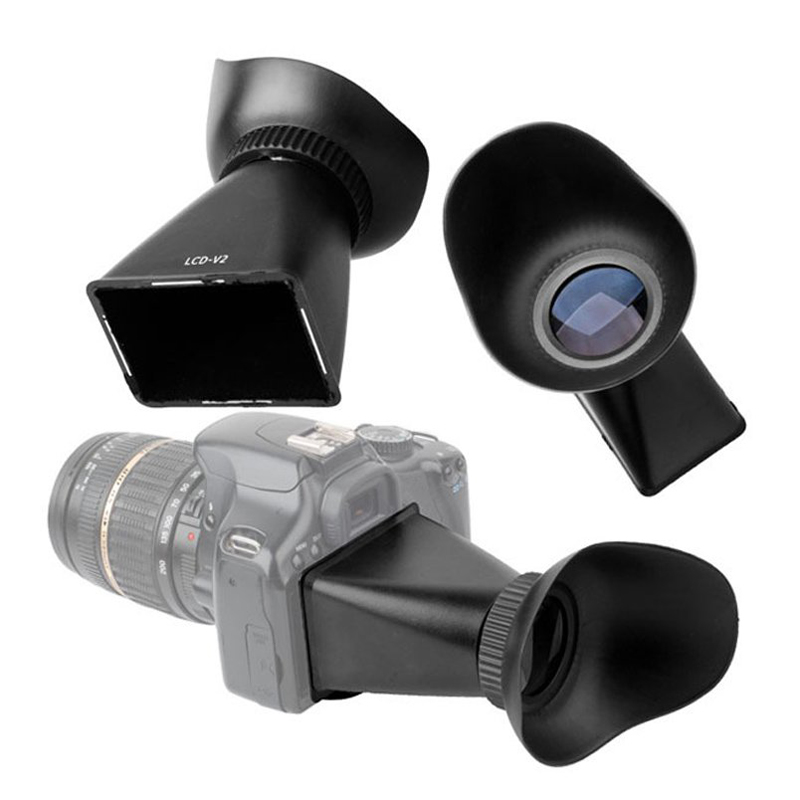 2X-2-8X-3-0-034-Viewer-V2-Extender-viewfinder-LCD-Viewfinder-for-550D-DW