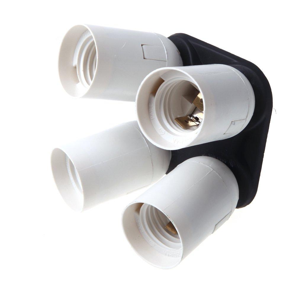 4in1 e27 sockel licht lampen birnen halter adapter fuer video studio softbox gy ebay. Black Bedroom Furniture Sets. Home Design Ideas