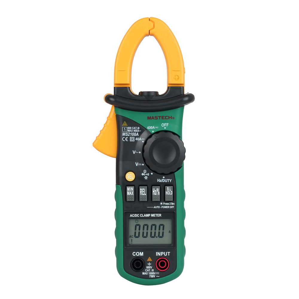 Current Clamp For Multimeter : Mastech ms a ac dc current clamp meter digital