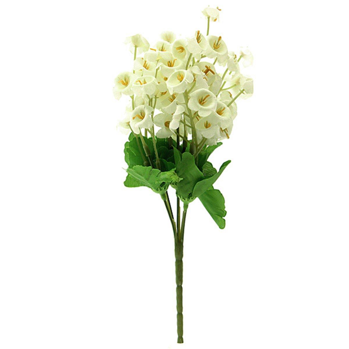 2x muguet bouquet artificial flowers plants marriage office home decoration f8j ebay. Black Bedroom Furniture Sets. Home Design Ideas