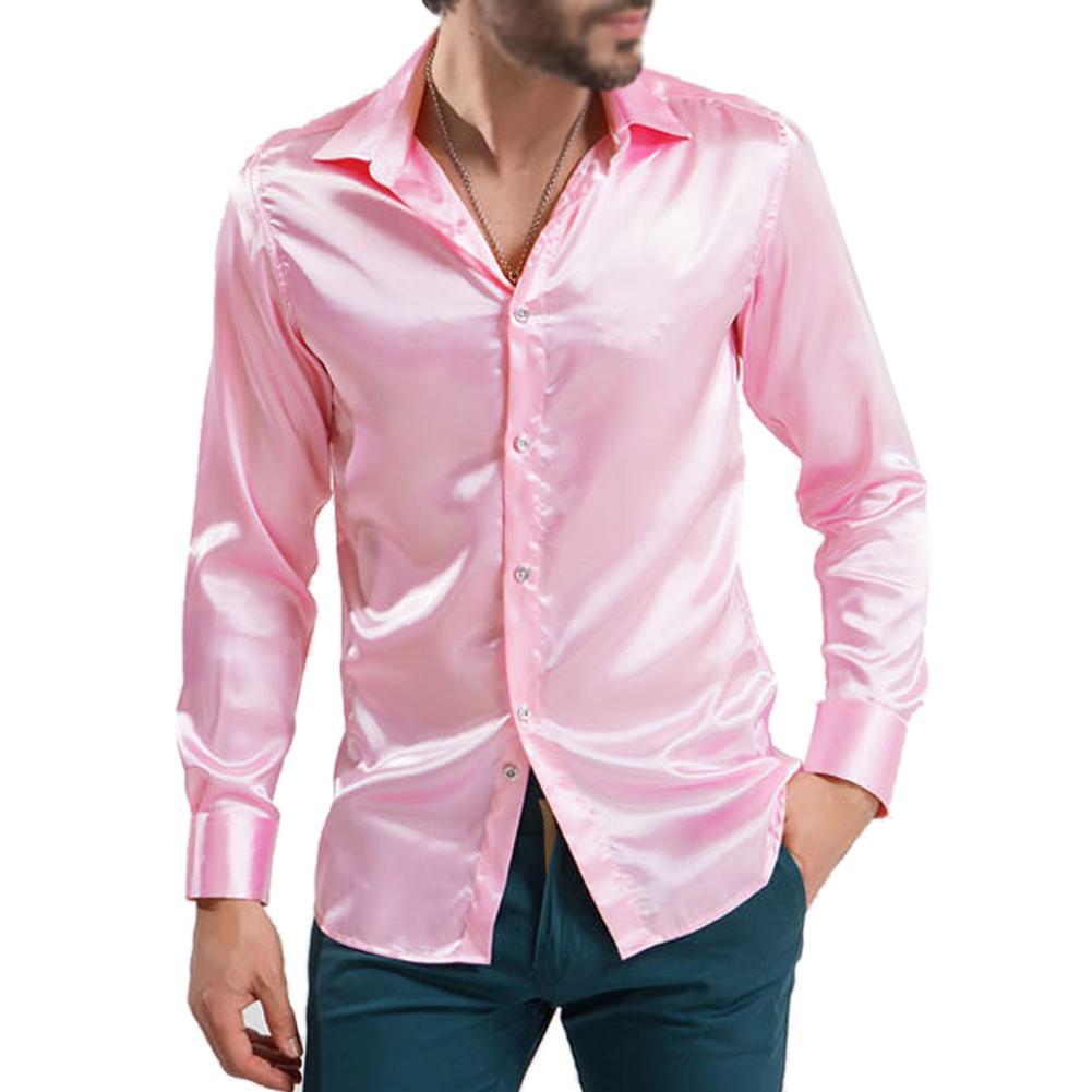 Men 39 S Clothing High Grade Silk Sleeve Shirts Men 39 S Shirt