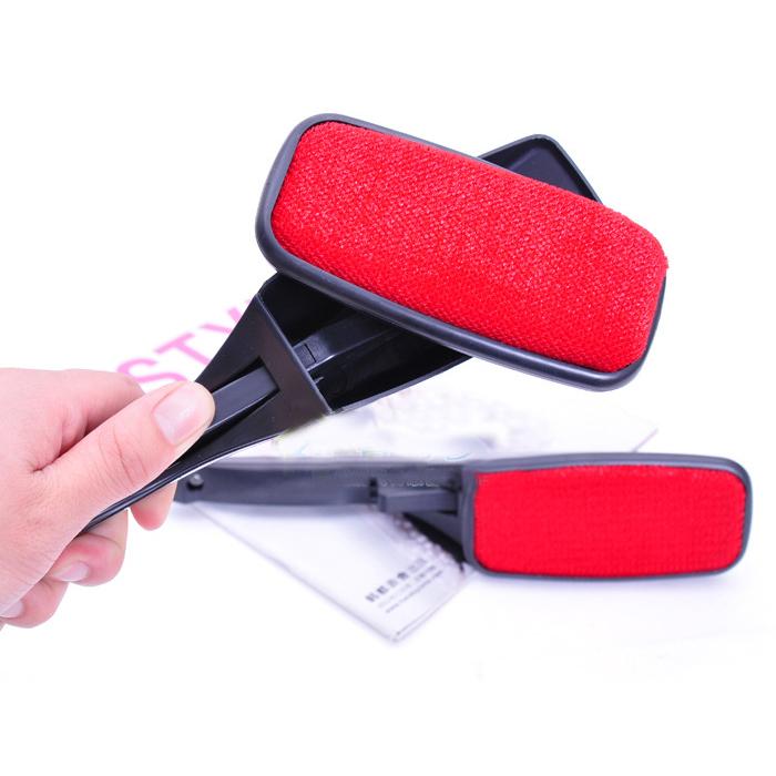 clothes brush magic fluff lint cleaning pet hair dandruff cloth brush ad ebay. Black Bedroom Furniture Sets. Home Design Ideas