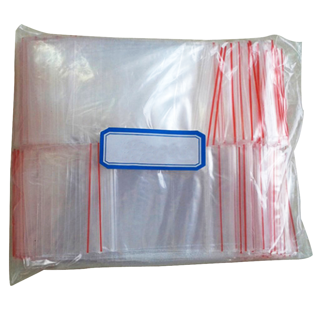 100pcs ziplock lock zipped poly clear bags plastic zip ad ebay. Black Bedroom Furniture Sets. Home Design Ideas