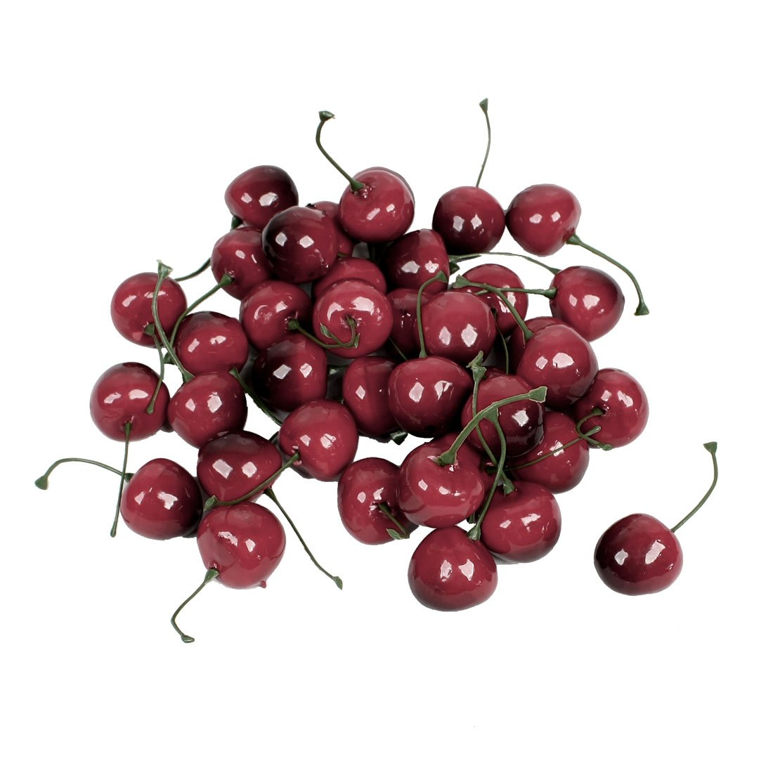 Faux fake craft cherry simulation fruits decor desk for Artificial cherries decoration