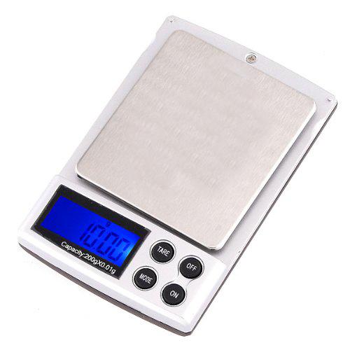 200g x mini digital jewelry pocket gram scale lcd ww for Mini digital jewelry pocket gram scale