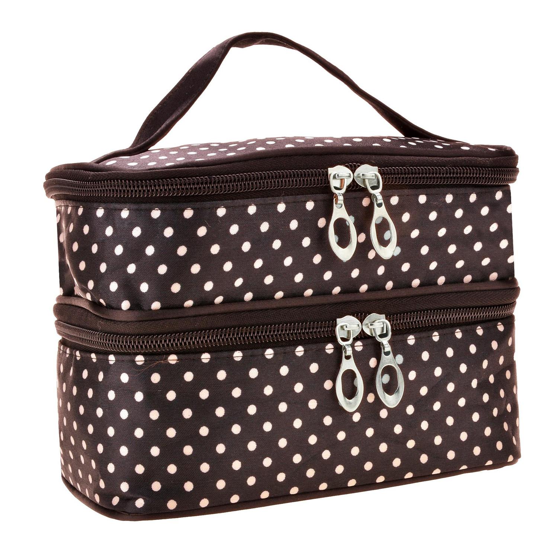 sac de maquillage sac de toilette portable a la mode pour femmes wt ebay. Black Bedroom Furniture Sets. Home Design Ideas