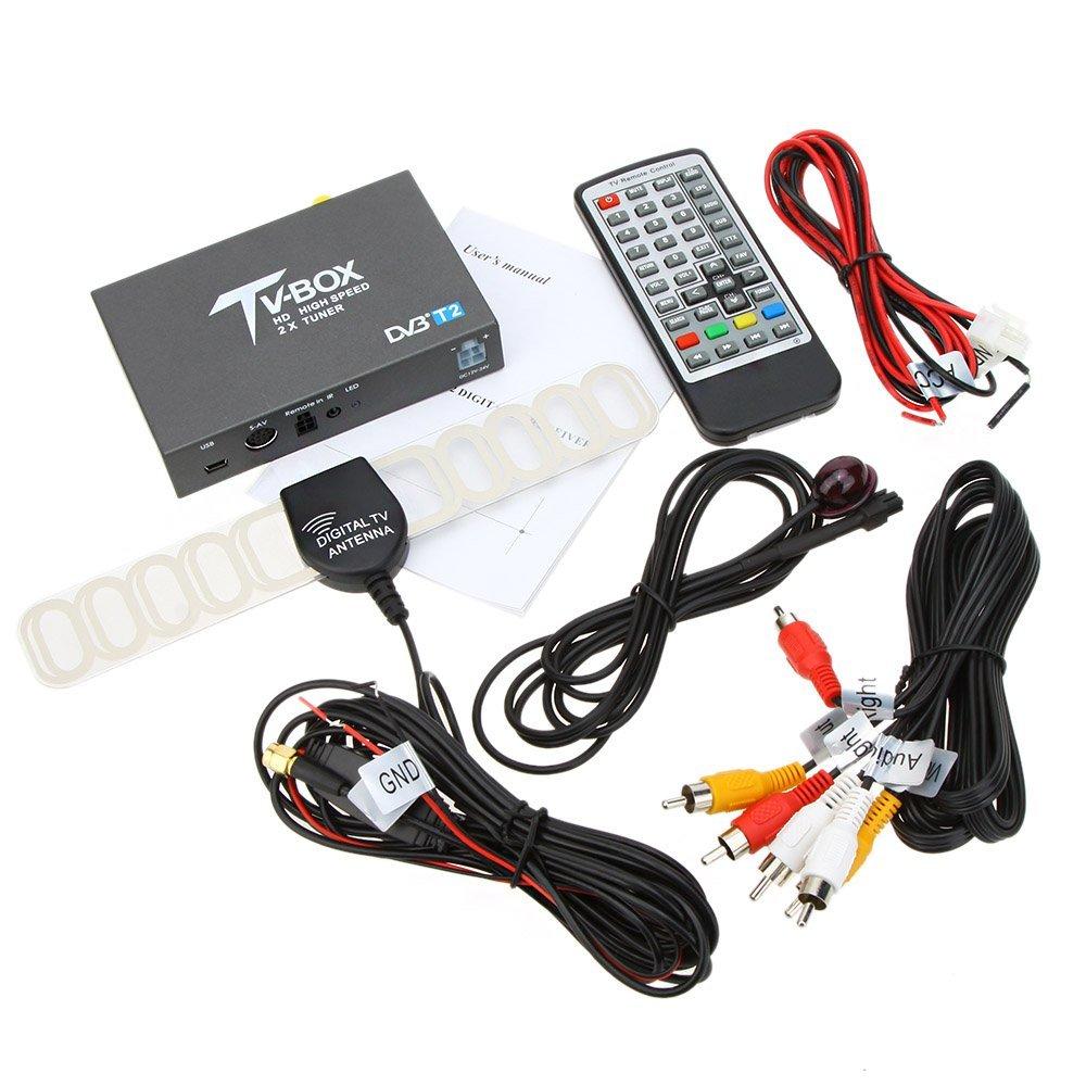 dvb t2 digital tv converter box fast decoding mobile car. Black Bedroom Furniture Sets. Home Design Ideas