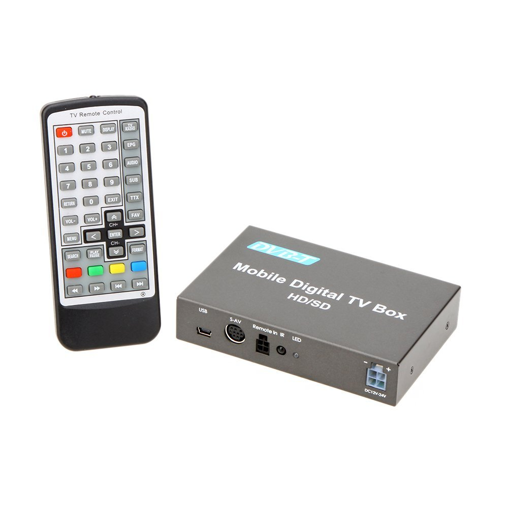 dvb t tuner car digital tv box analog tv tuner high speed. Black Bedroom Furniture Sets. Home Design Ideas