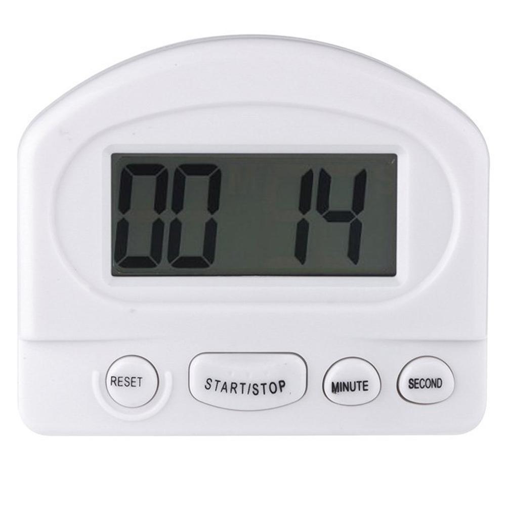 Küchentimer Digital ~ 3x digital kuechentimer mit alarm magnet weiss de ebay