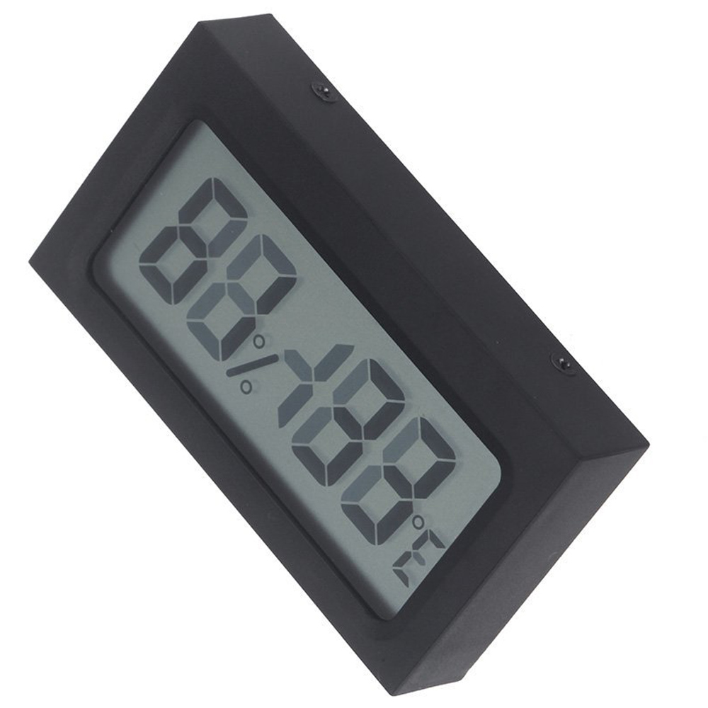 digital lcd innen thermometer hygrometer luftfeuchtigkeit et. Black Bedroom Furniture Sets. Home Design Ideas
