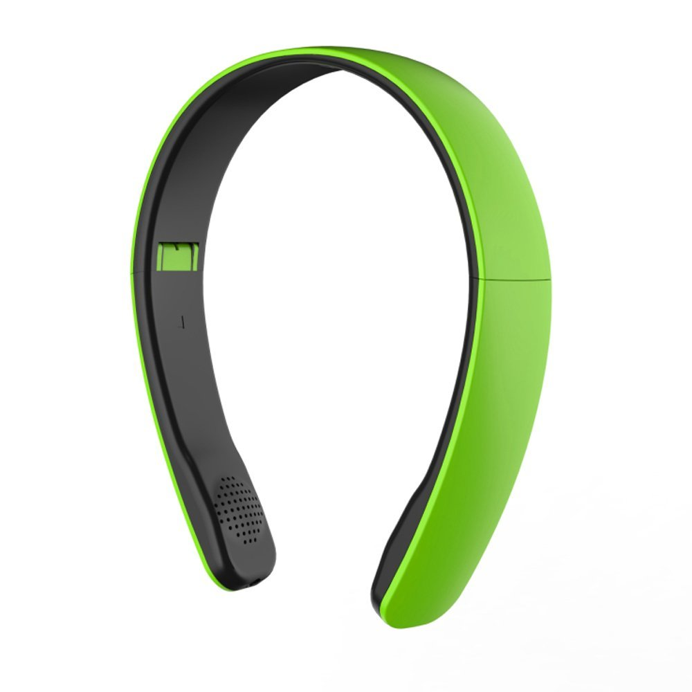 white foldable wireless csr bluetooth 4 0 headset for android smartphone beb ebay. Black Bedroom Furniture Sets. Home Design Ideas