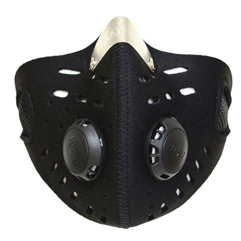 WOLFBIKE Anti-pollution City Cycling Mask Mouth-Muffle Dust Mask Bicycle Sp G2F7