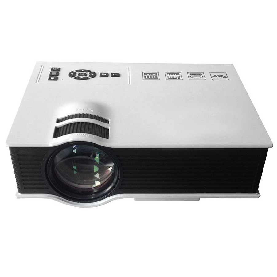 K8195 unic best seller uc40 portable 800 lumens 1080p full for Highest lumen pocket projector