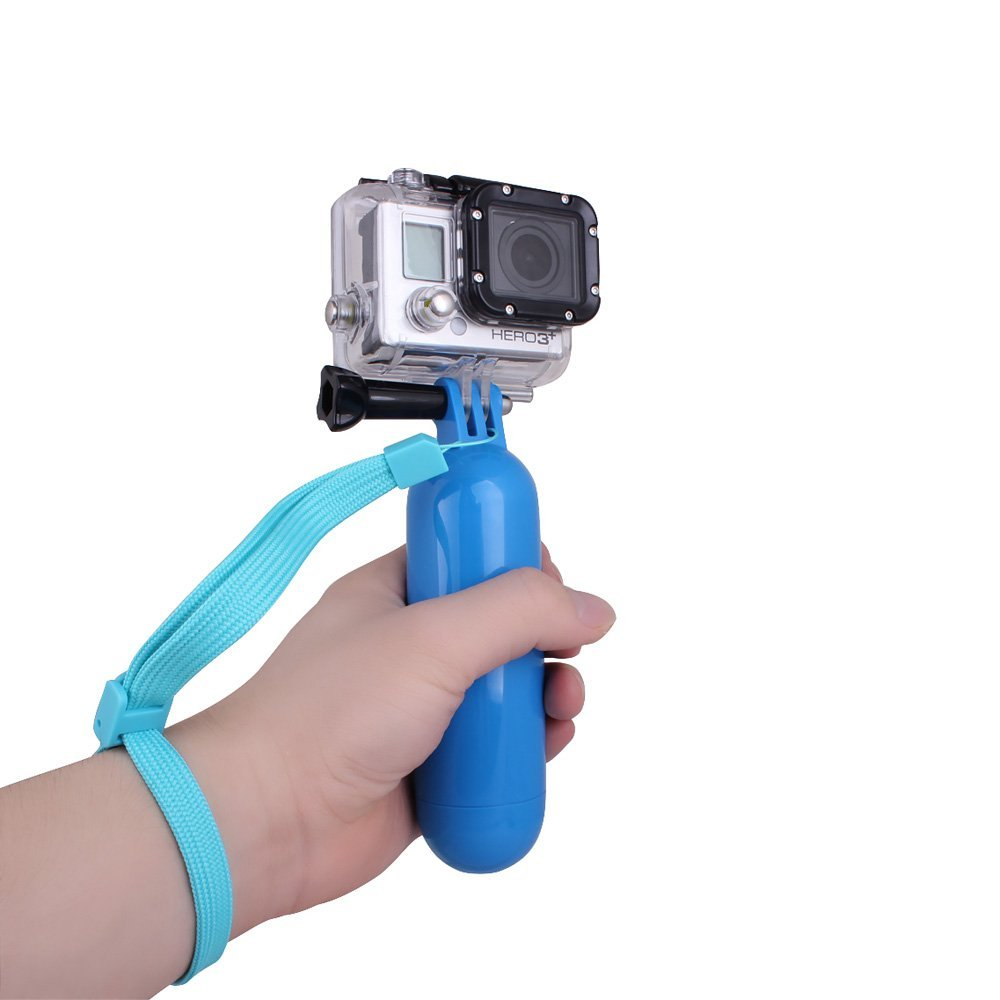 floating hand grip handle mount accessory for go pro hero 1 2 3 3 camera t1 ebay. Black Bedroom Furniture Sets. Home Design Ideas