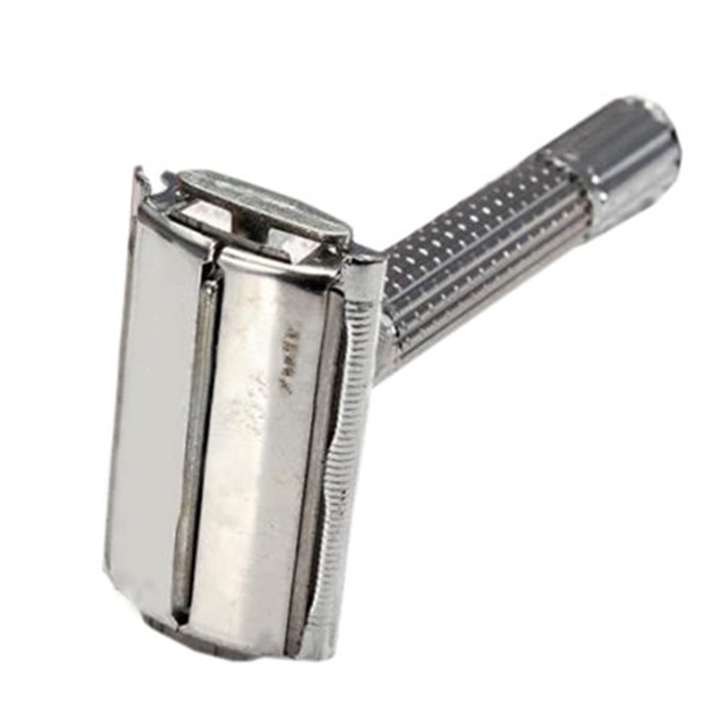 Mens Traditional Safety Double Edge Blade Shave Shaving