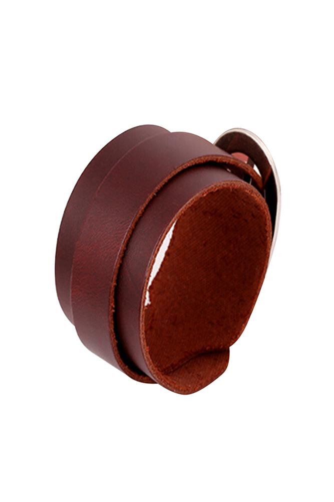 Punk-Unisex-Genuine-Leather-Wide-Belt-Wristband-Bangle-Cuff-Bracelet-Fashio-U3O7