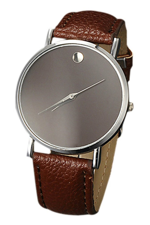 Fashion unisex minimalism wrist watch hy for Minimal art wrist watch