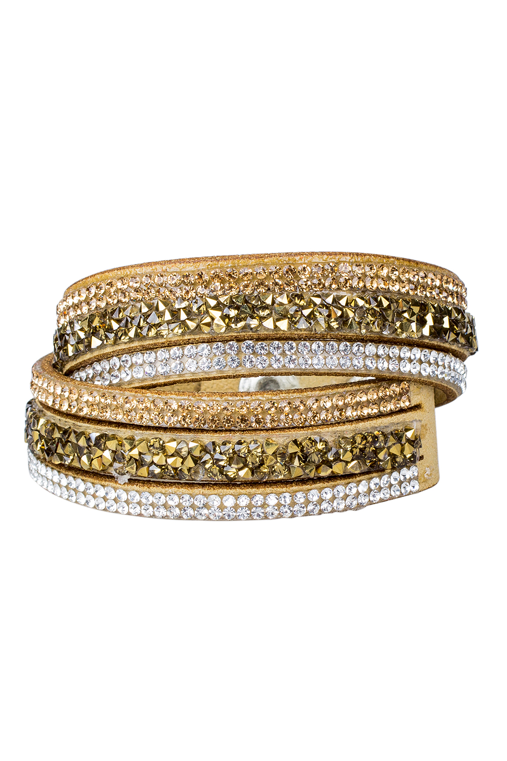 Men 39 s women 39 s rivets rhinestones multi layers faux leather for Rivets for leather jewelry