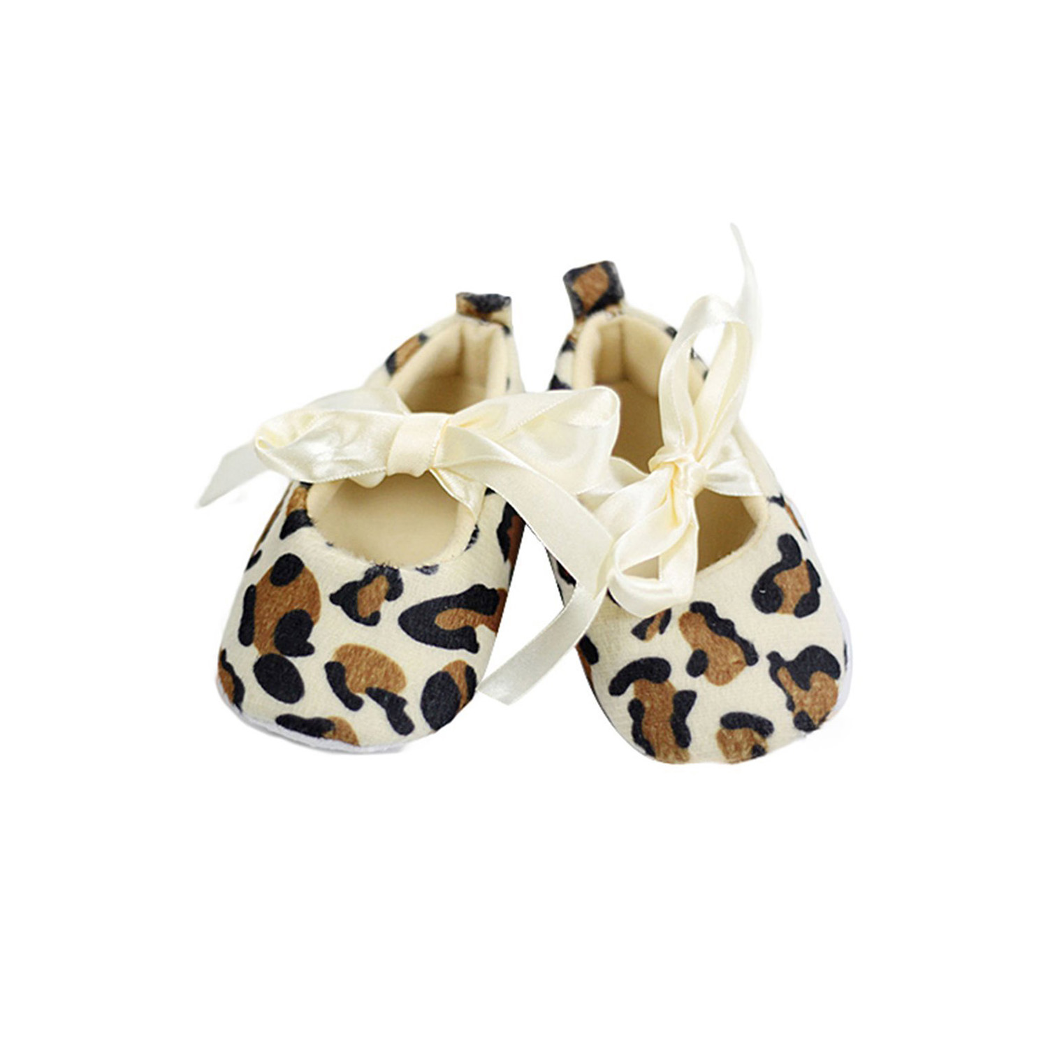 baby toddler leopard soft sole walking shoes newborn