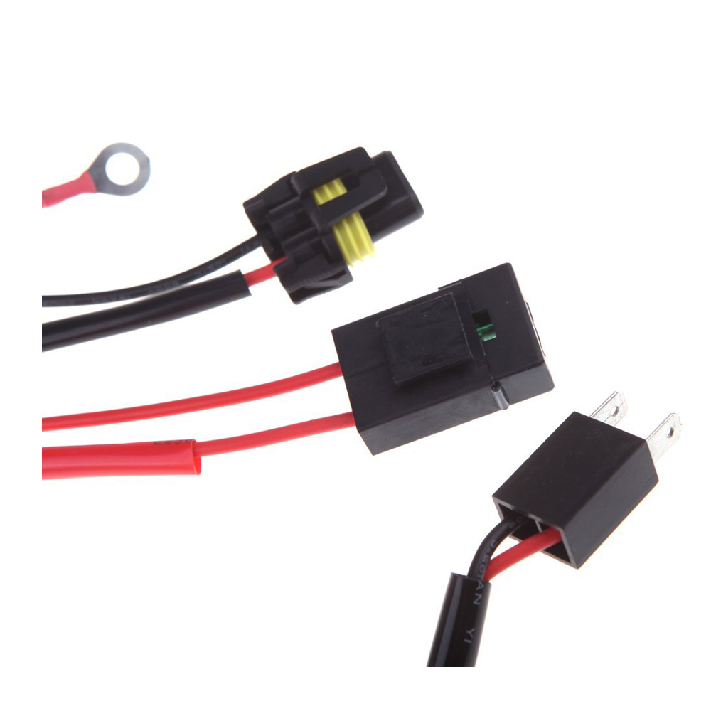 hid conversion kit relay wire harness adapter wiring h7 ws ebay