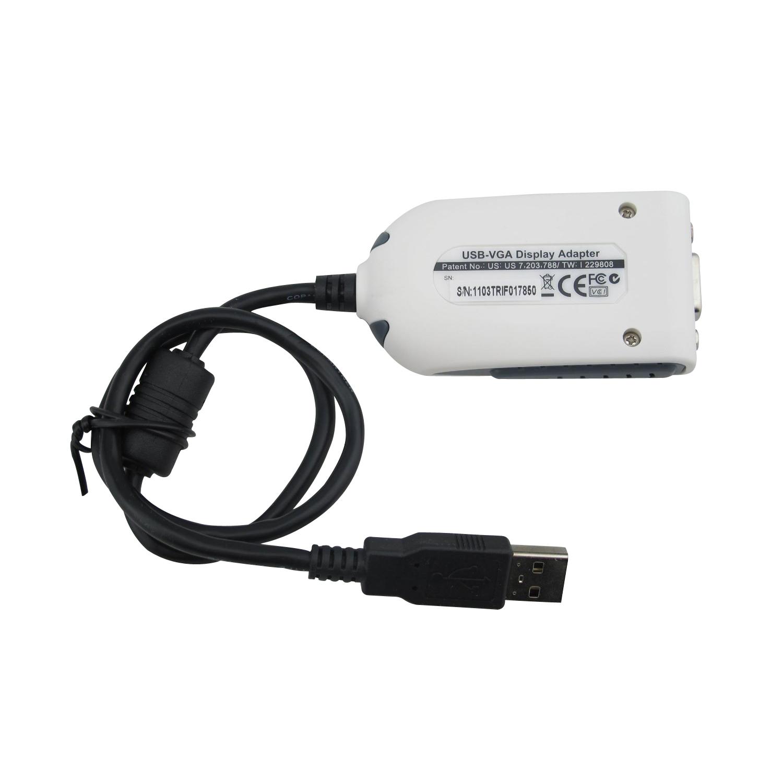 Usb 2 0 To Vga Adapter Mac Cable Hdmi Macbook Air Fnac Micro Sd Adapter Nedir Intex Adapter B Amazon: 2x(USB 2.0 To VGA Dual Display Adapter Multi Monitor