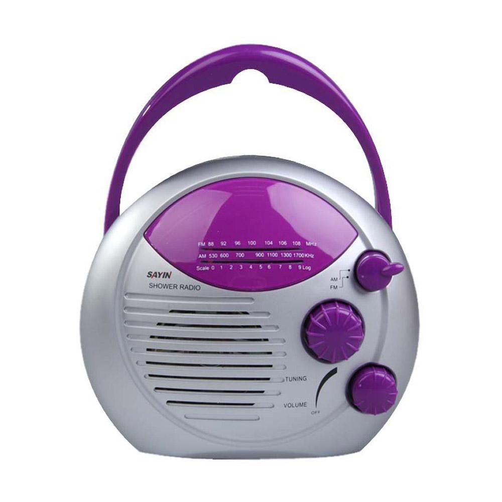 Sayin am radio fm de douche radio etanche pour salle de for Radio pour la salle de bain