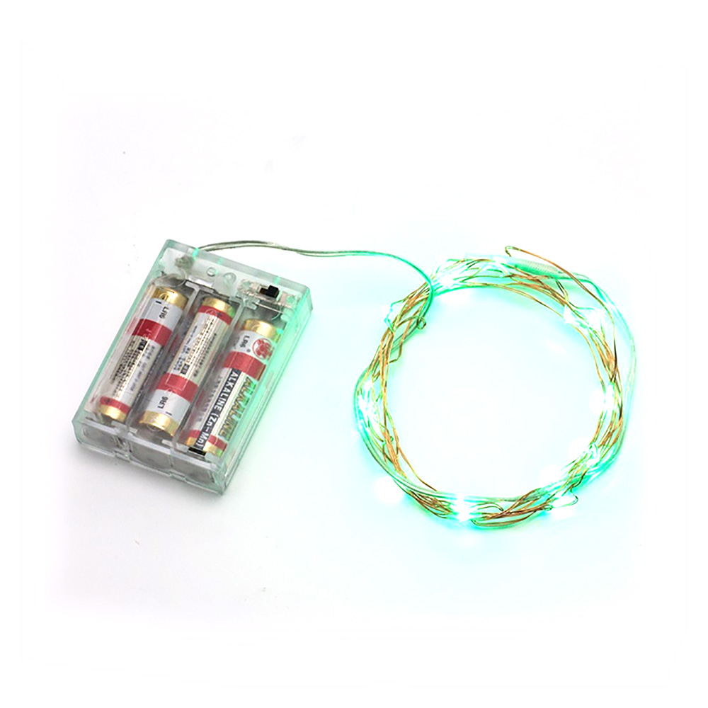 Mini Micro Battery Powered LED String Light Copper Wire LED Starry Lights F6 eBay