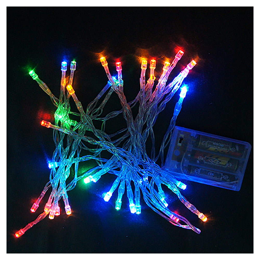 Single String Christmas Lights : 2m 20 LED Battery Operated Christmas Wedding Fairy String Lights BT eBay